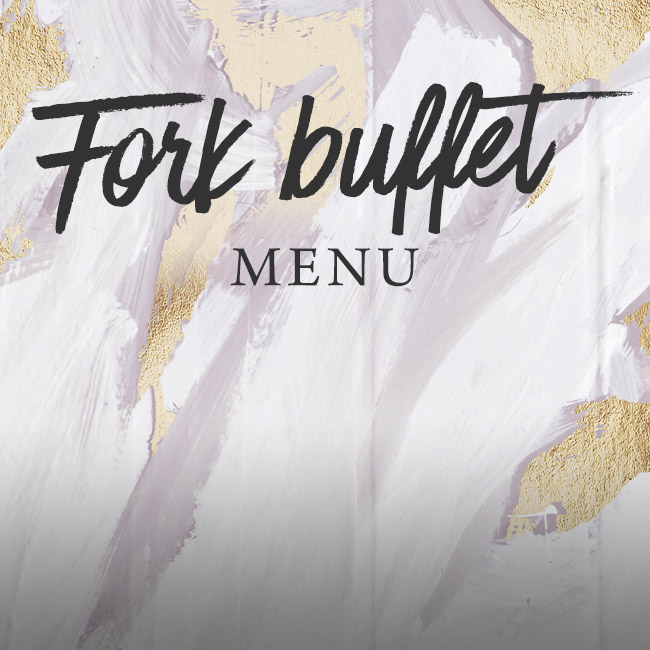 Fork buffet menu at The Kingfisher