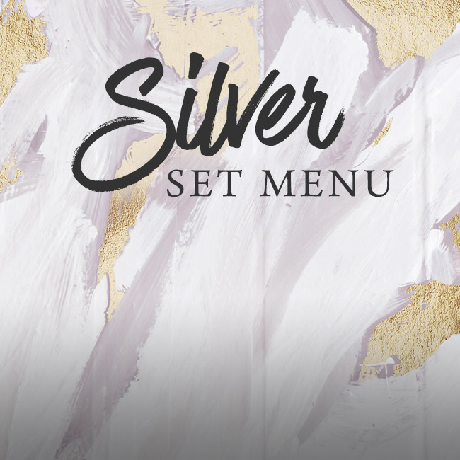 Silver set menu at The Kingfisher