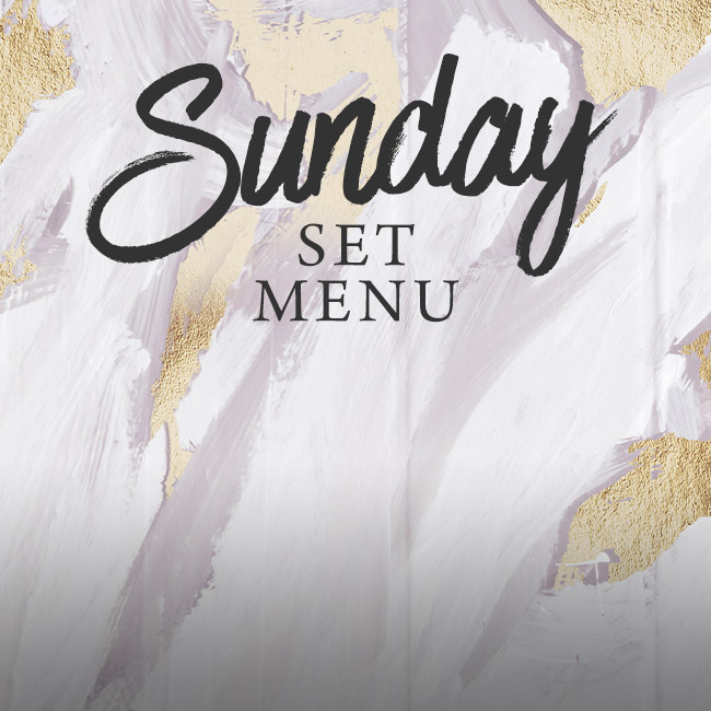 Sunday set menu at The Kingfisher